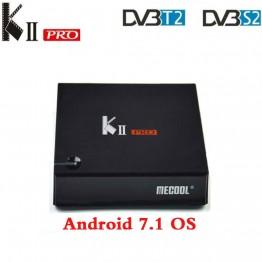 4404.13 руб. 28% СКИДКА MECOOL Кии PRO Android 7.1.1 ТВ коробка DVB S2 DVB T2 K2 PRO Amlogic S905D 4 ядра 2G16G 4 K Клайн NEWCAMD 2,4/Wi Fi 5 ГГц двухъядерный процессор Wi Fi-in ТВ-приставки from Бытовая электроника on Aliexpress.com   Alibaba Group