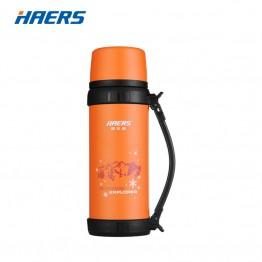 1656.25 руб. 29% СКИДКА Фирменный термос Haers 1.1L, нержавеющая сталь. Спортивная бутылка для питьевой воды с ручкой купить на AliExpress