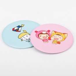 US $0.59 5% OFF|1Pcs Lady Makeup Mirror Cartoon Pattern Portable Compact Pocket Cosmetic Mirror Free Shipping-in Makeup Mirrors from Beauty & Health on Aliexpress.com | Alibaba Group