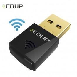 656.78 руб. |EDUP mini usb беспроводной Wi Fi адаптер 300 Мбит/с 802.11n Wi Fi приемник высокое качество применение ethernet адаптер сетевой карты для компьютера-in Сетевые карты from Компьютер и офис on Aliexpress.com | Alibaba Group