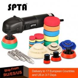 SPTA 780 Вт мини машина для полировки автомобиля роторный орбитальный ручной автомобильный полировщик Авто 27 шт. полировальная подушка для дет...