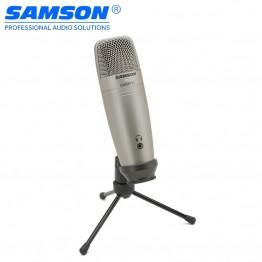 4643.73 руб. 20% СКИДКА|Samson C01U Pro USB Студийный конденсаторный микрофон с контролем в реальном времени с большой диафрагмой конденсаторный микрофон для вещания-in Микрофоны from Бытовая электроника on Aliexpress.com | Alibaba Group
