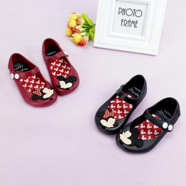 US $6.99 |13 17cm Cute Cartoon Jelly Shoes Girls Sandals Infants Minnie Mickey Children Baby Girls shoes-in Sandals from Mother & Kids on Aliexpress.com | Alibaba Group