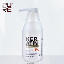 US $13.9 43% OFF|PURC Brazilian Keratin Treatment straightening hair 8% formalin 300ml Eliminate frizz and make shiny and smooth hair treatment-in Hair & Scalp Treatments from Beauty & Health on Aliexpress.com | Alibaba Group