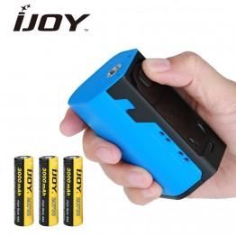 2170.83 руб. |Оригинал IJOY капитан X3 324 Вт 20700 модель TC 9000 мАч с большим Цвет OLED Экран и 3 шт. 3000 мАч Батарея электронная сигарета Mod купить на AliExpress