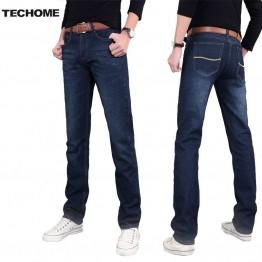 947.2 руб. 37% СКИДКА 2016 новые мужские джинсы брюки эластичные со средней посадкой прямые мужские одежда топы брюки темно синие повседневные брюки классные Стрейчевые мужские джинсы-in Джинсы from Мужская одежда on Aliexpress.com   Alibaba Group
