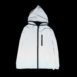 623.25 руб. 30% СКИДКА|Новая Светоотражающая куртка для мужчин/женщин harajuku ветровка куртки с капюшоном хип хоп Уличная Ночная блестящая куртка на молнии-in Куртки from Мужская одежда on Aliexpress.com | Alibaba Group