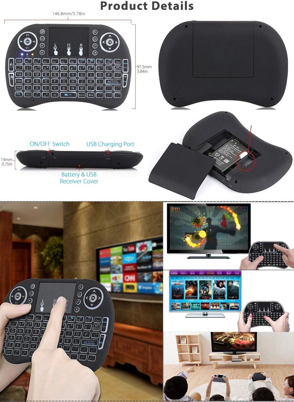 Мини беспроводная клавиатура-мышь