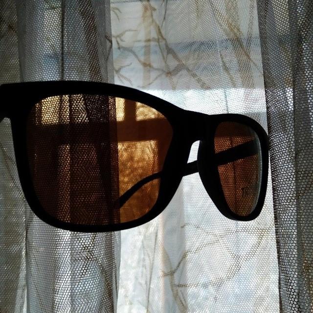 Огни большого города. Поляризационные очки.