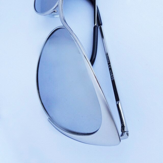 """Зеркальные солнцезащитные очки-""""кошечки"""""""