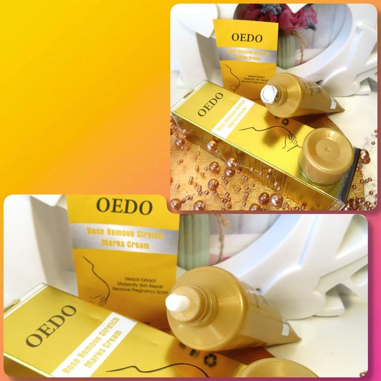 Крем от растяжек для будущих мамочек от бренда OEDO