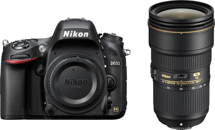 Nikon D610 24,3 МП цифровая зеркальная камера