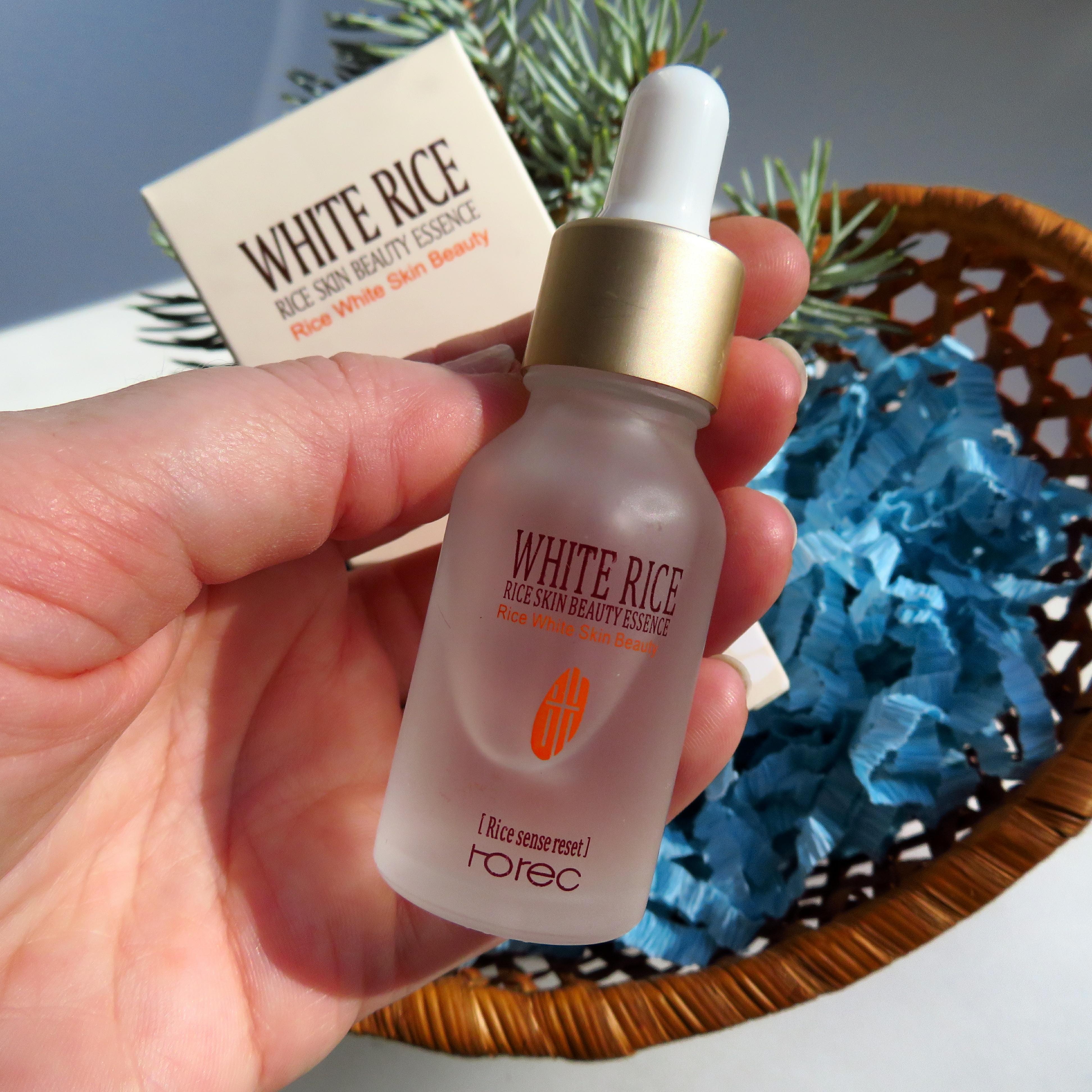 Антивозрастная лифтинг-эссенция с экстрактом белого риса и гиалуроновой кислотой от бренда ROREC