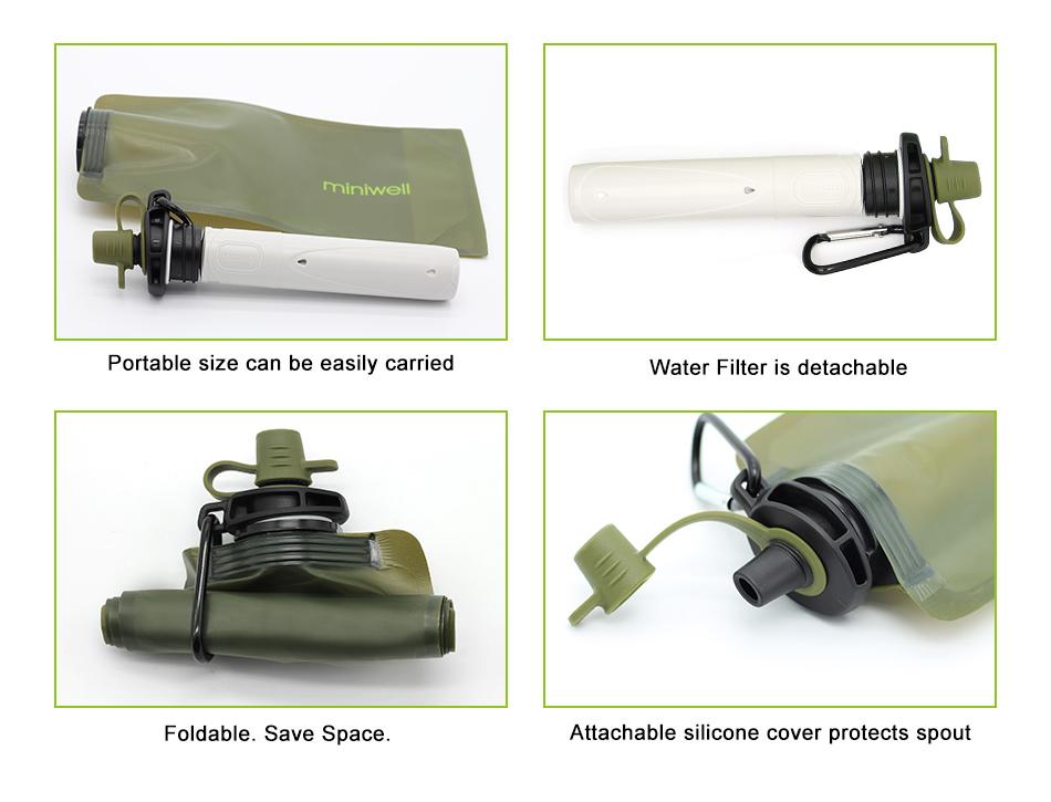 Miniwell L620 Портативный фильтр для воды.