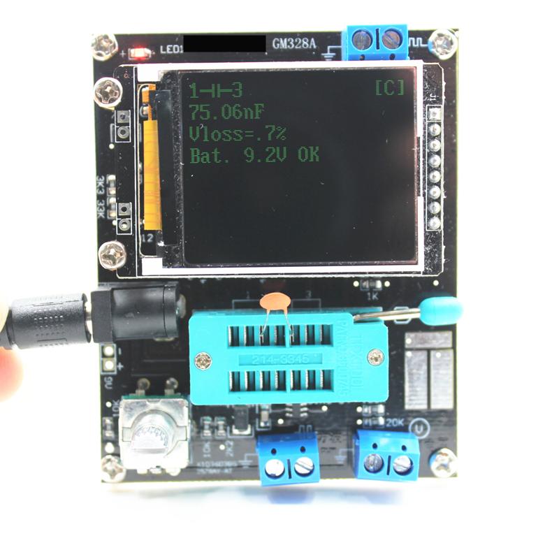 Тестер радиоэлементов GM328