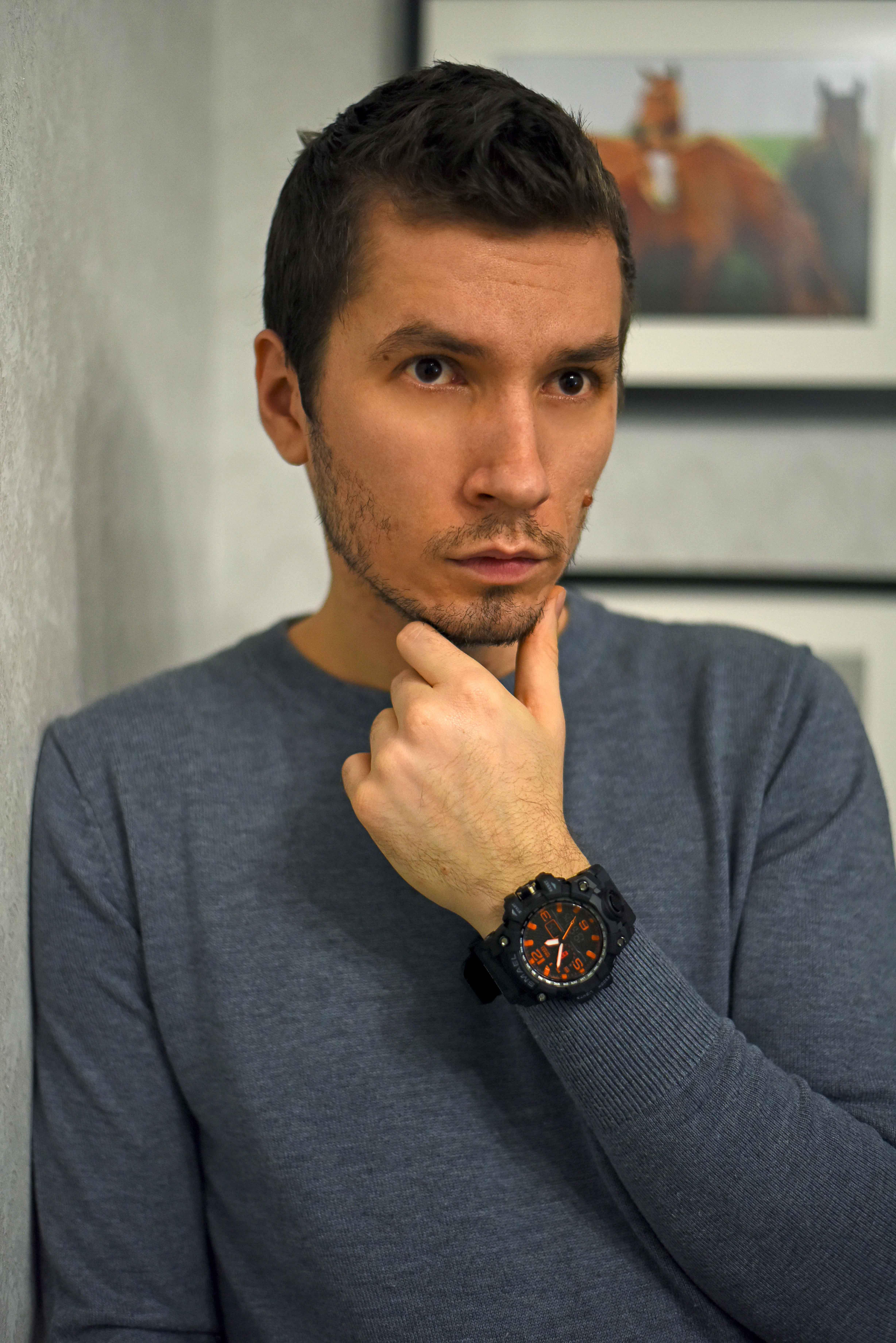 Брутальные наручные часы бренда  Smael