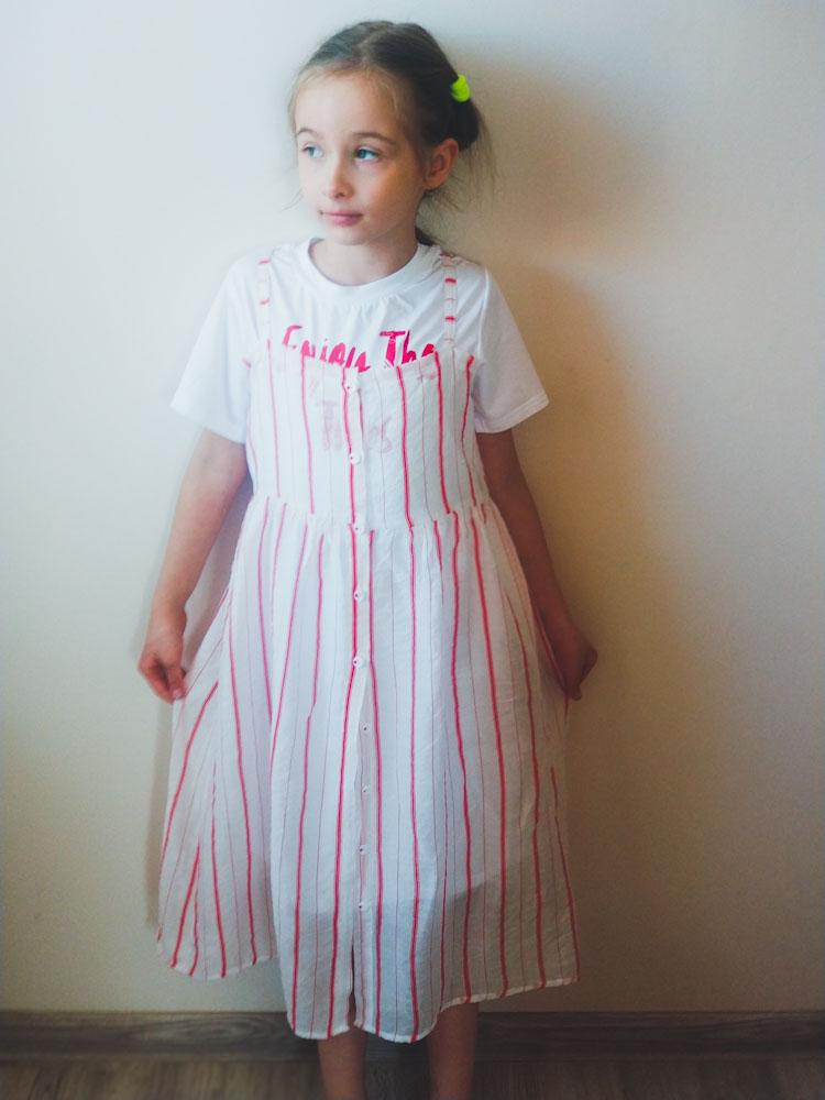 Прекрасное летнее платье для девочек