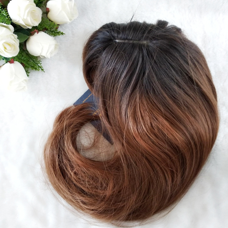Парик с длинными волосами с челкой от ELEMENT