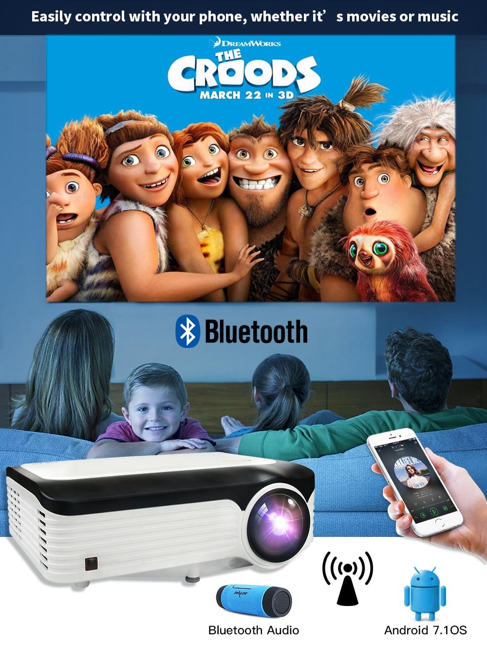 Video Projector Crenova Full HD 1080P- это усовершенствованная система 2019г