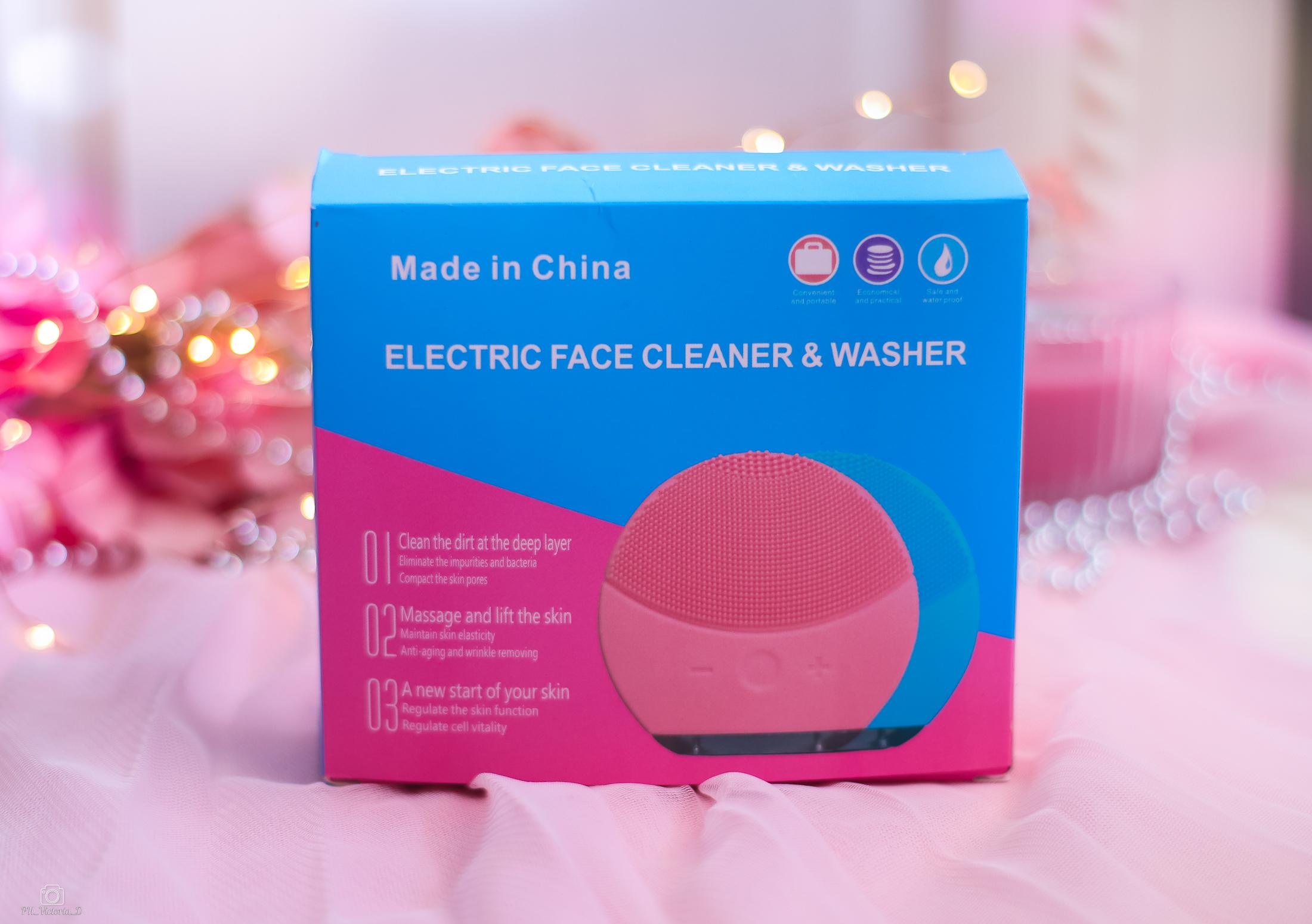 Электрическая щетка для очищения лица