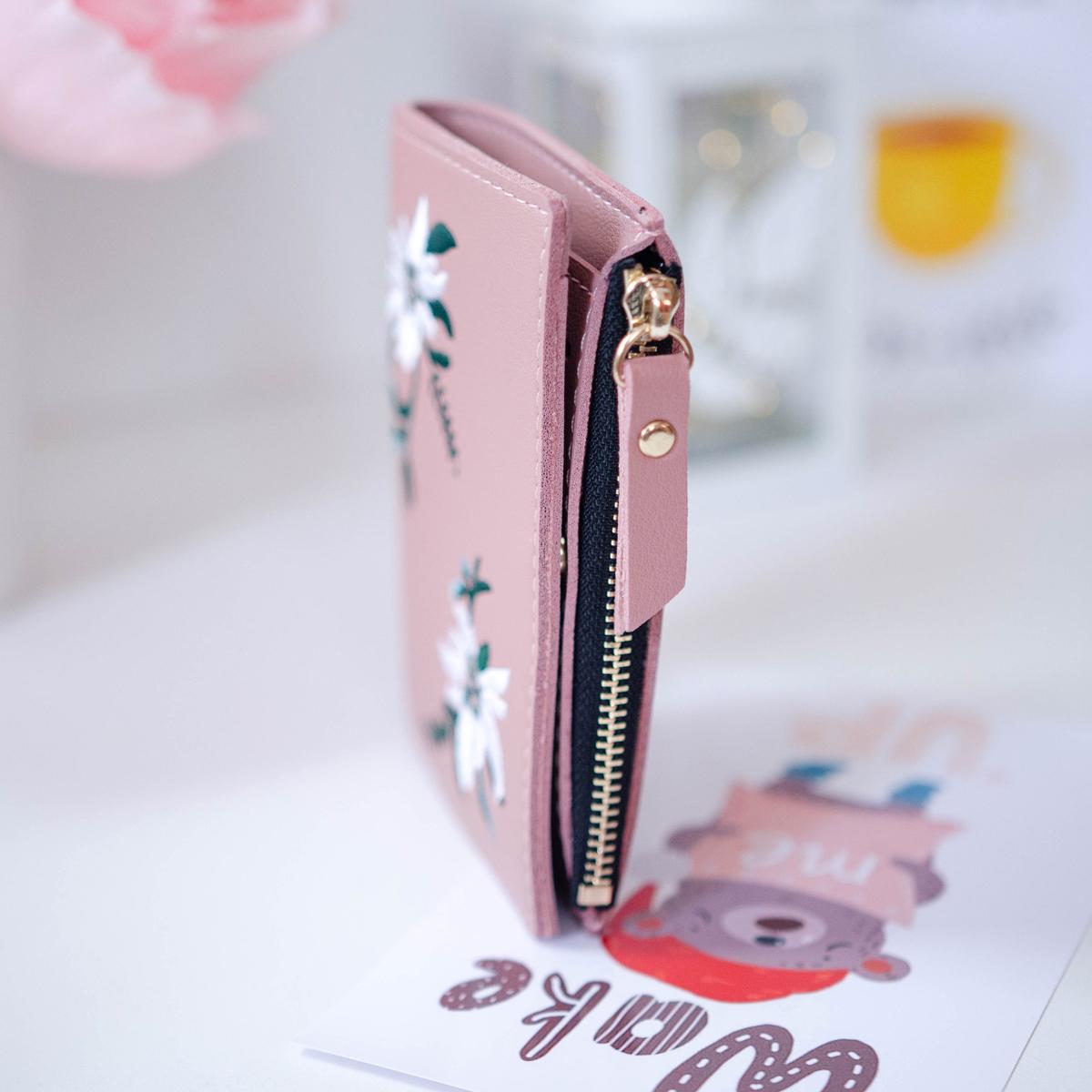 Красивый кошелек с эдельвейсами