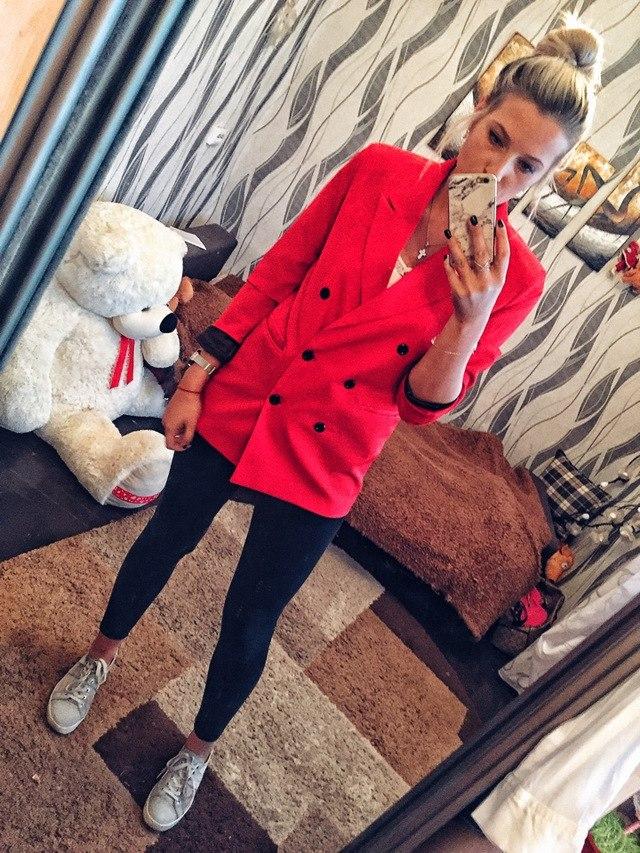 """quot;Шикарный красный пиджак с али"""""""