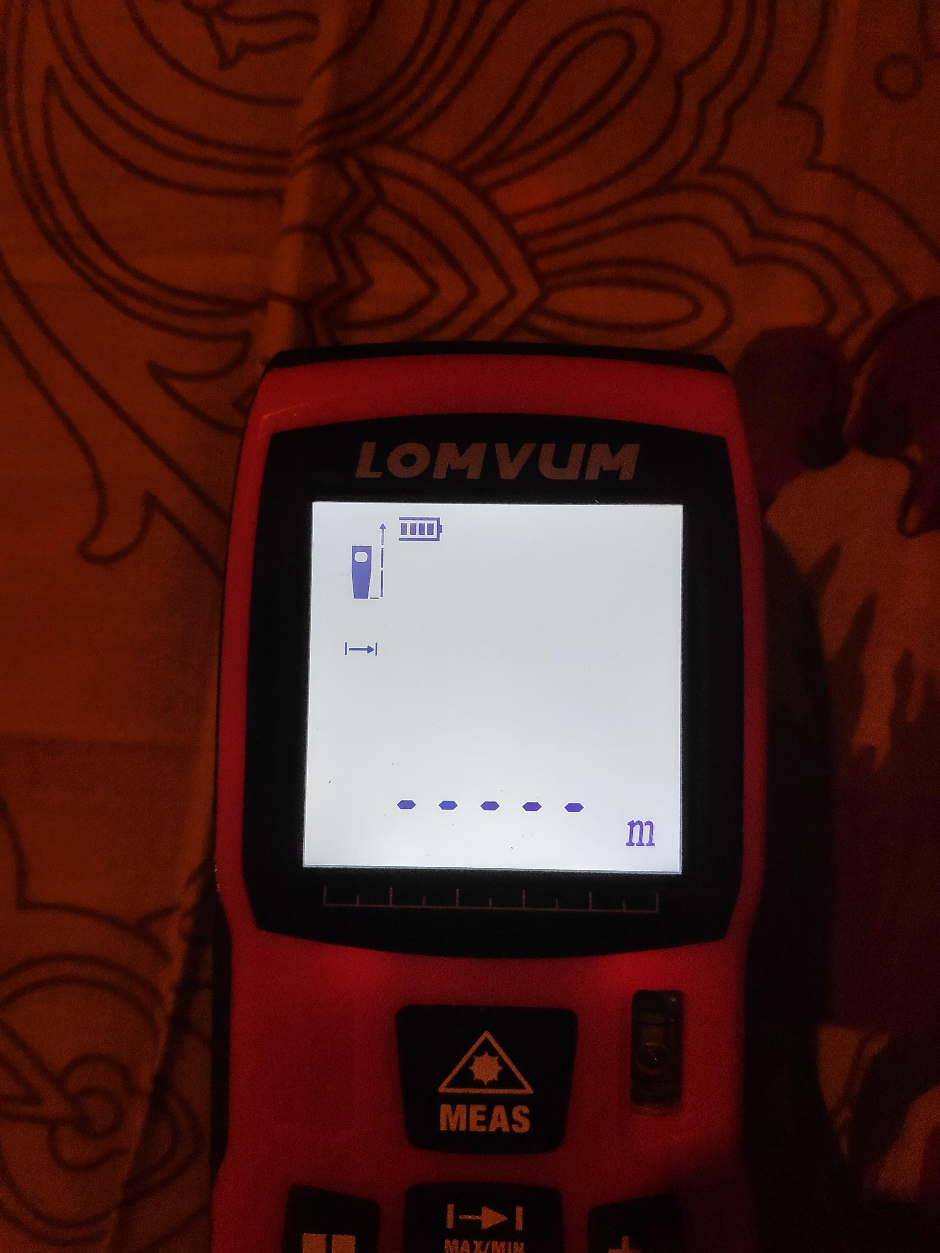 Точный лазерный дальномер LOMVUM