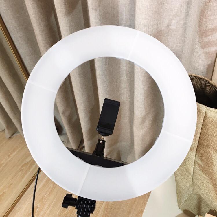 кольцевой свет от capsaver