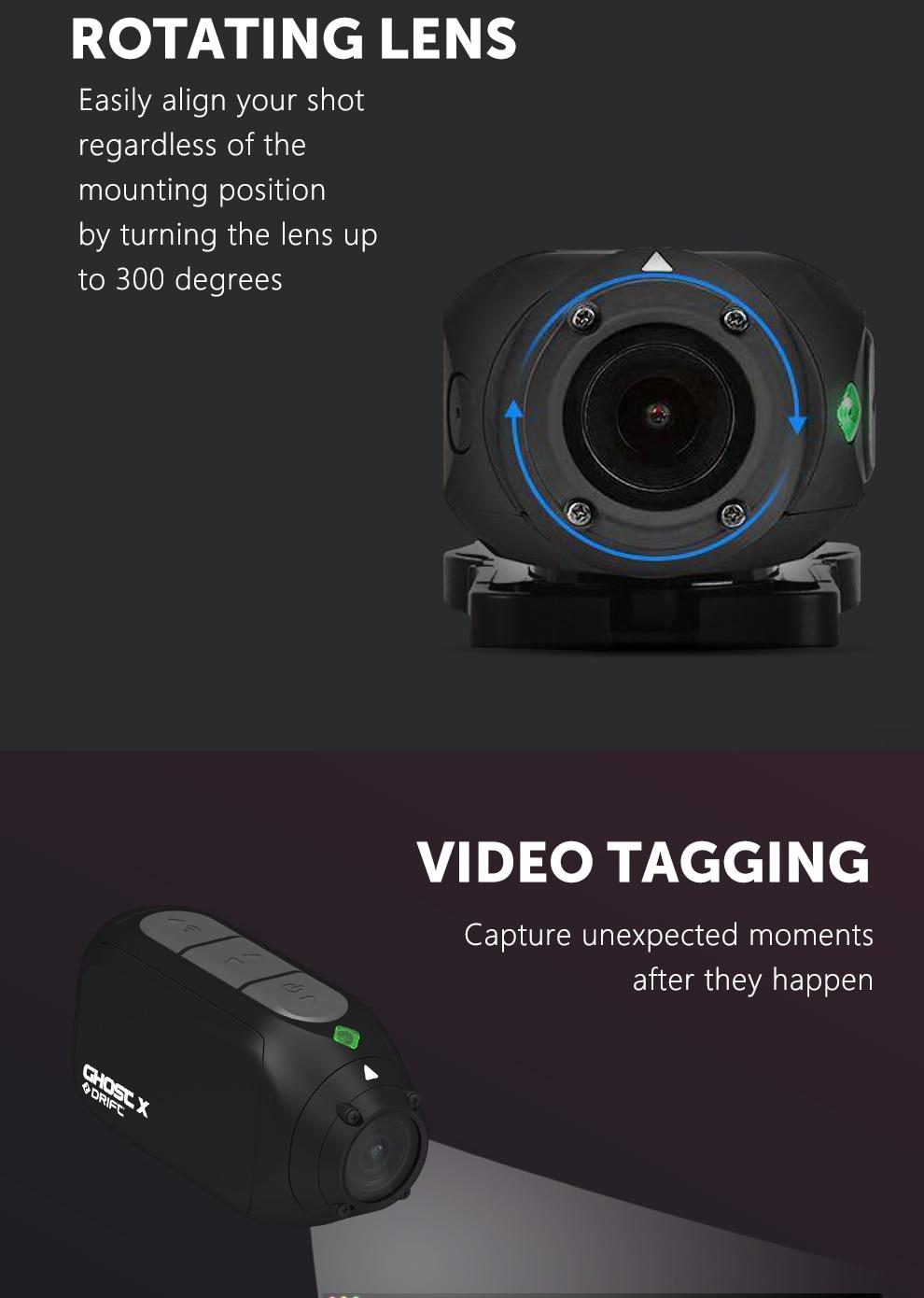 Современная и удобная экшн-камера Drift Ghost X