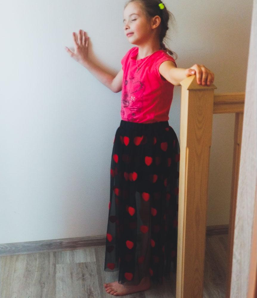Сердечная юбка: подробный пост