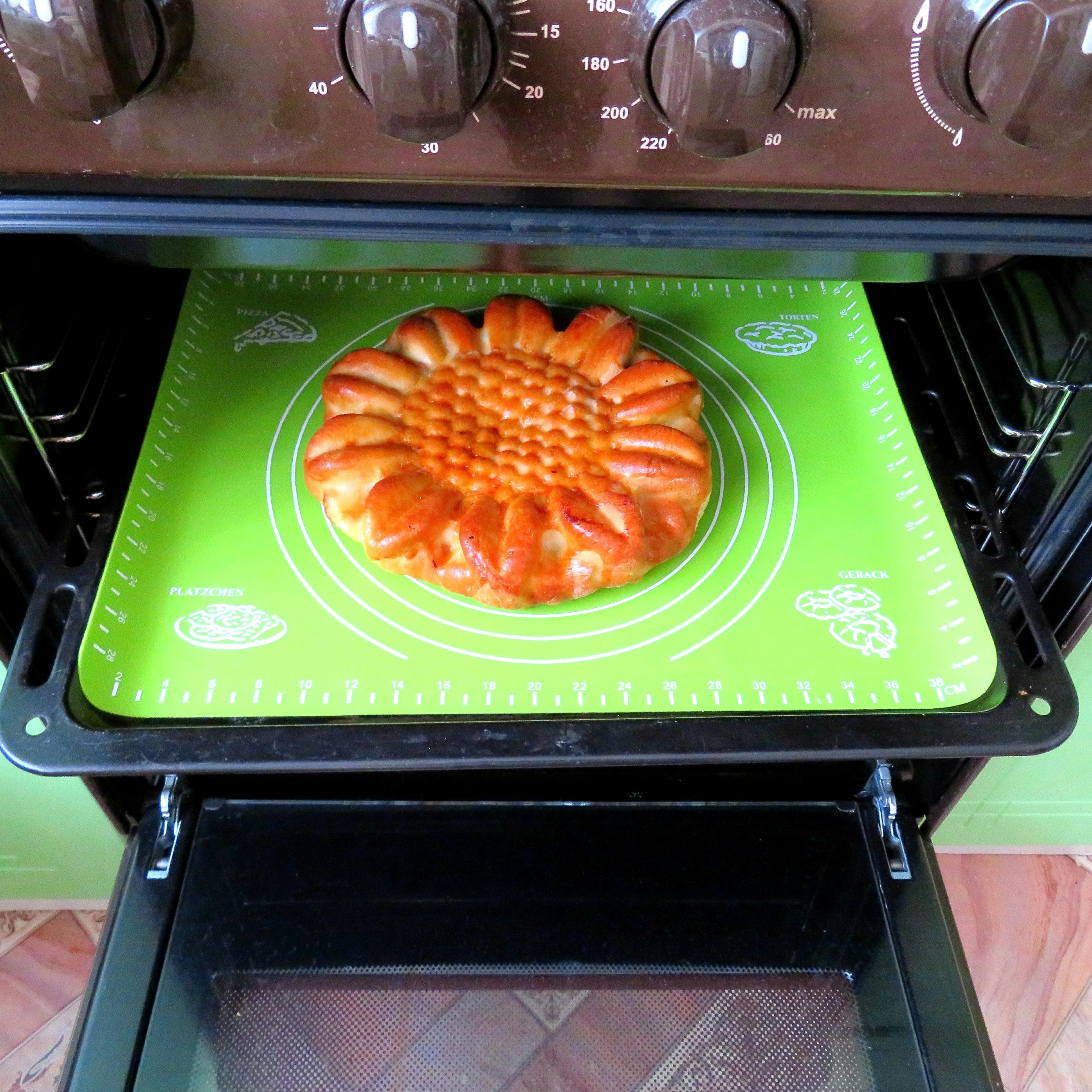 Качественный силиконовый термоустойчивый коврик для выпечки