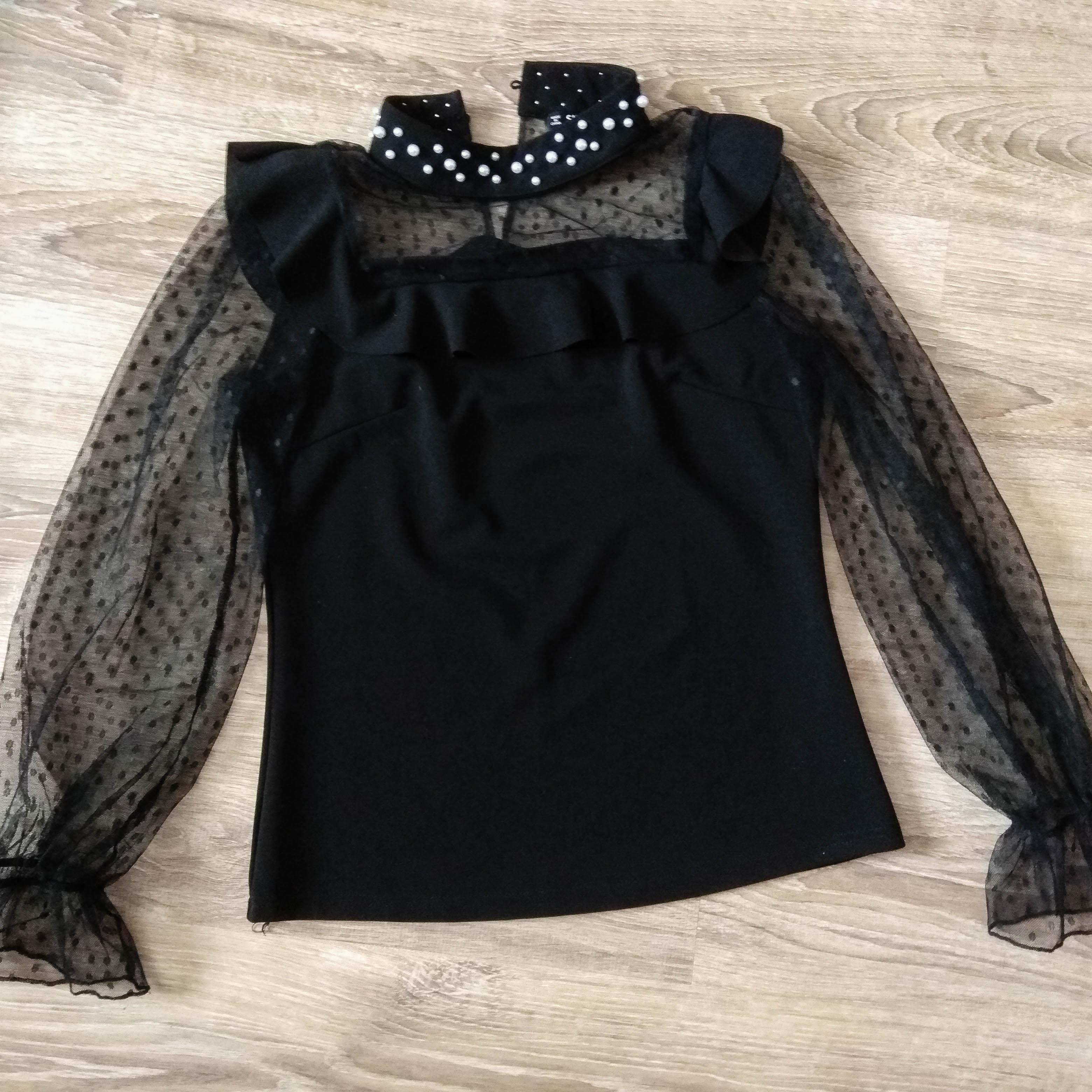 Стильная блузка Sheinside, скидка на любой товар из магазина