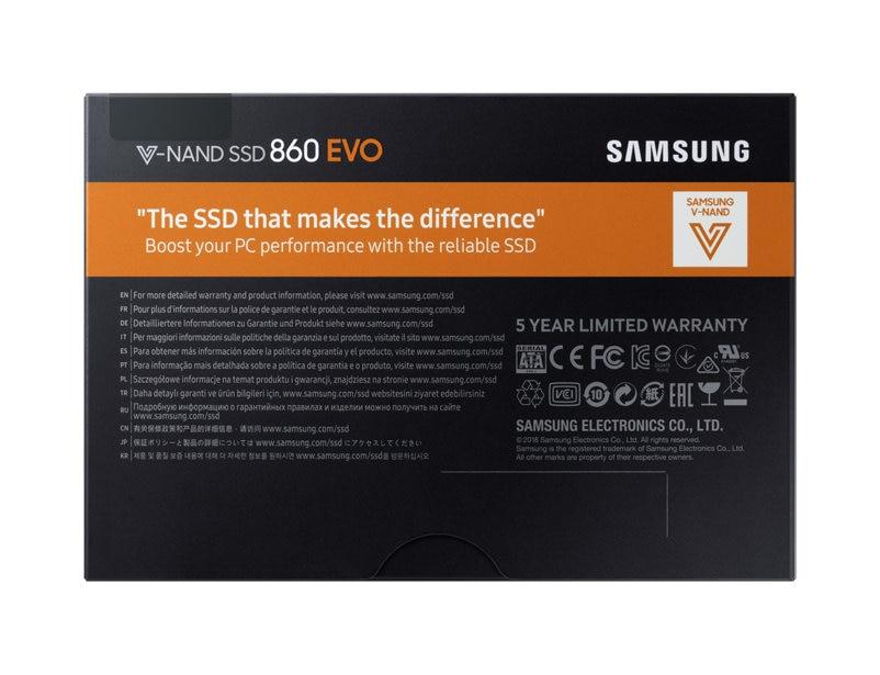 Обзор SSD-накопителя Samsung 860 EVO