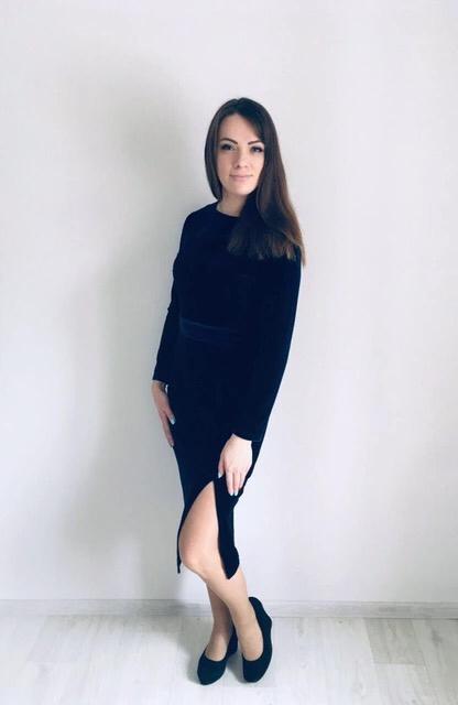 Восхитительное бархатное платье Simpcq