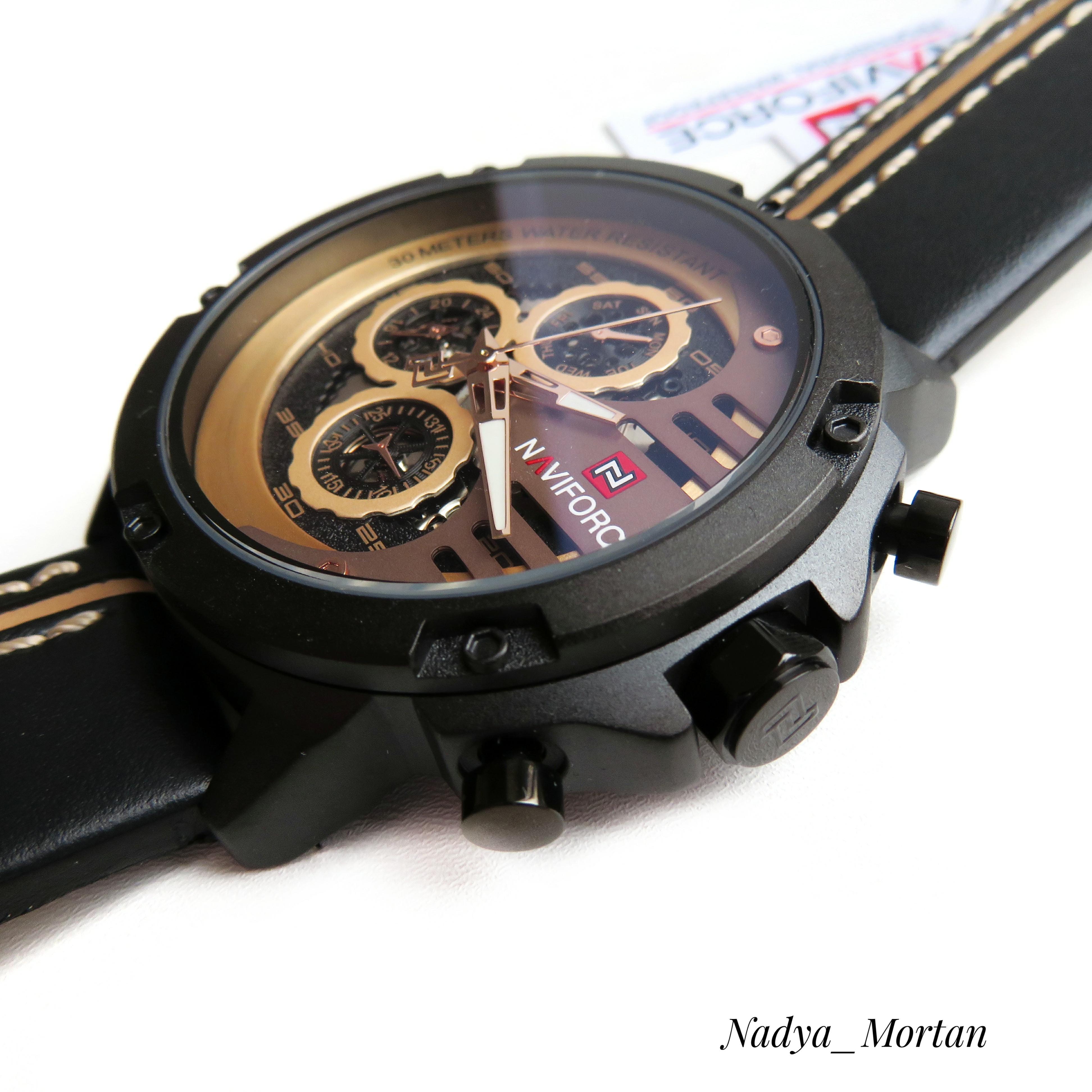 Брутальные кварцевые часы для настоящих мужчин от элитного бренда NAVIFORCE