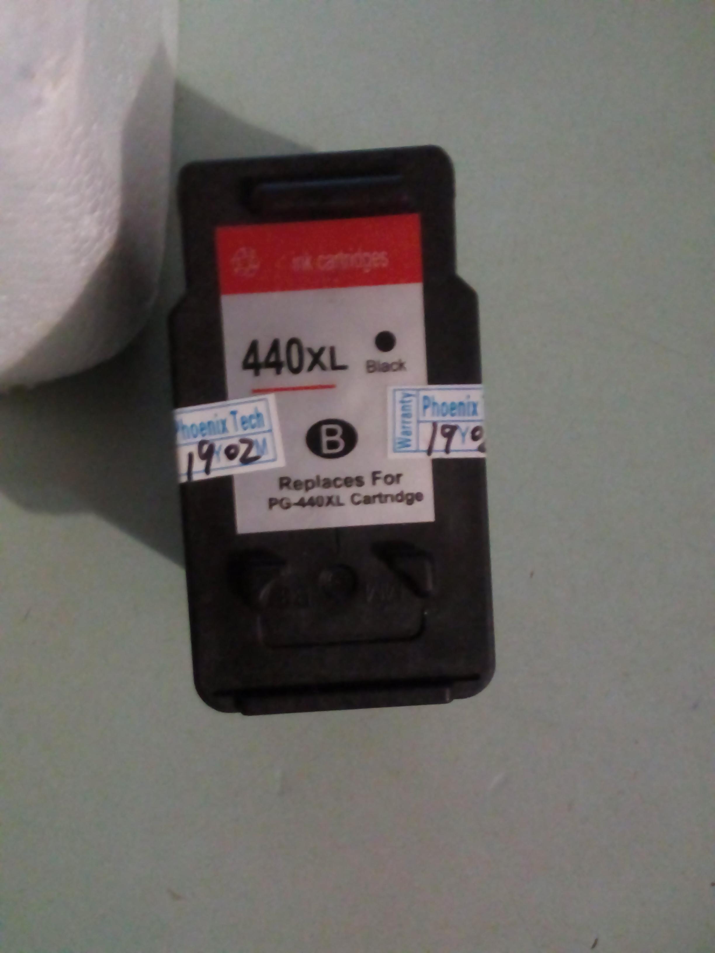 Отличная замена для вашего Canon. PG-440 PG-440XL черные чернильные картриджи