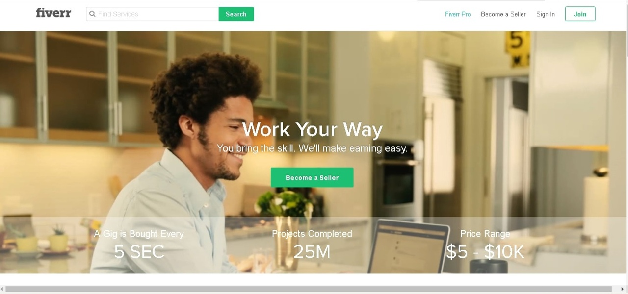 Fiverr.com Review: Peculiarities, Registration, and Start of Work - buy