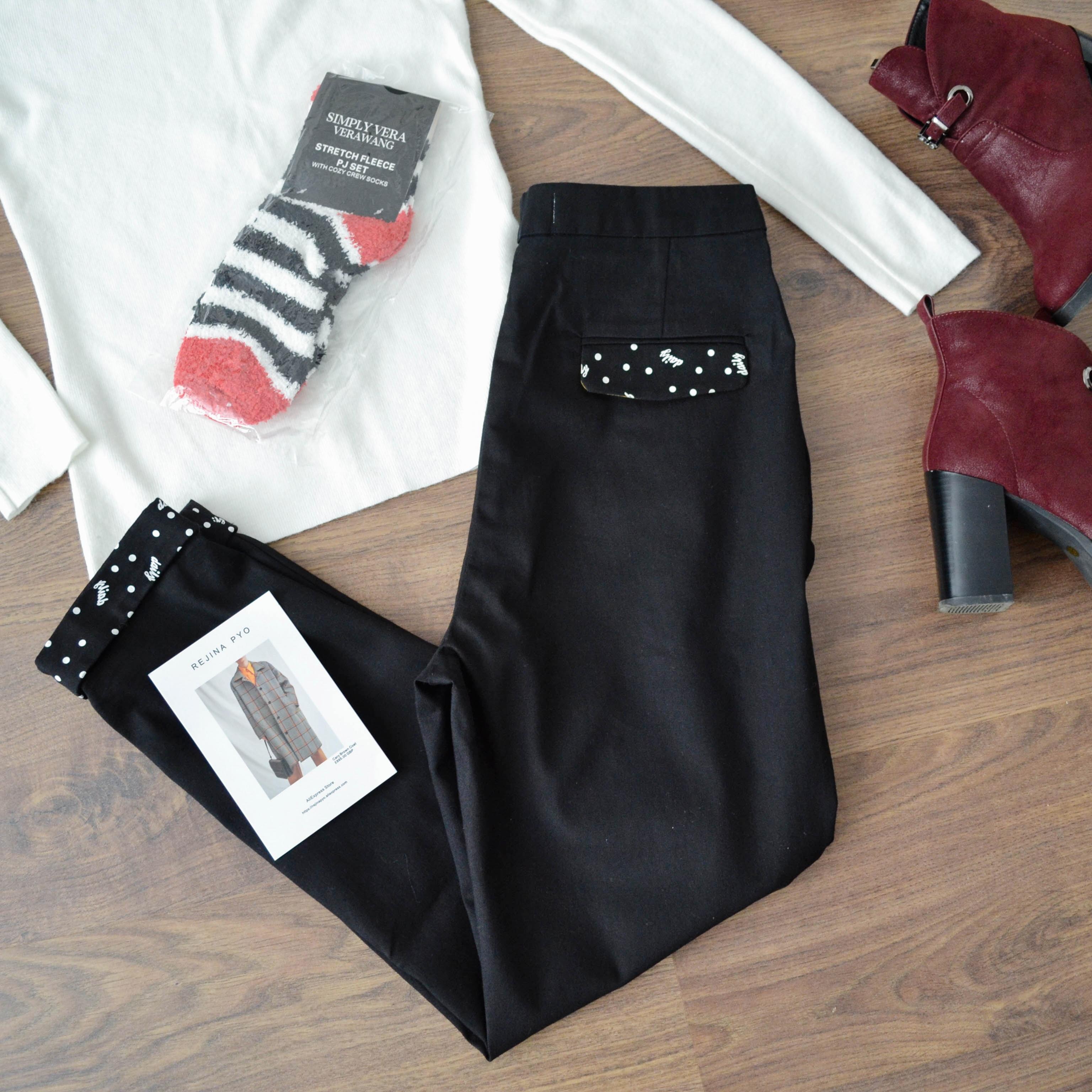 Стильное дополнение к весенним образам - Укороченные брюки Biaoruina