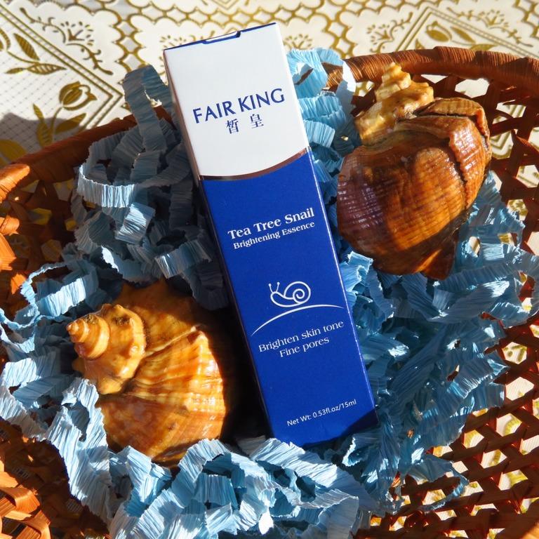Эффективная отбеливающая сыворотка с секретом улитки от бренда FAIR KING