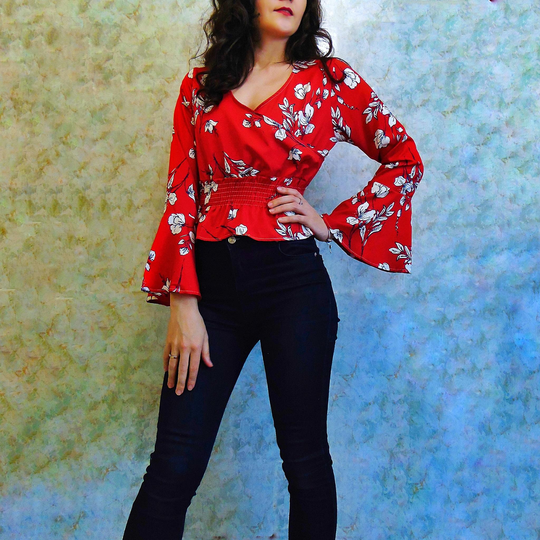 Блуза для современной Кармен