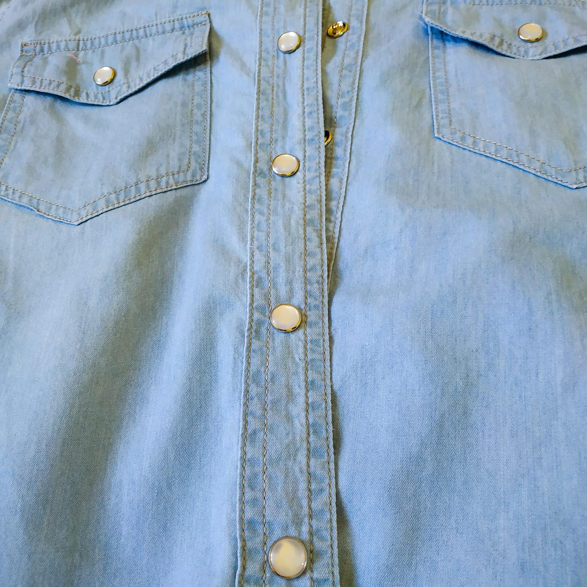 Джинсовая рубашка - quot;универсальный солдатquot; вашего гардероба!