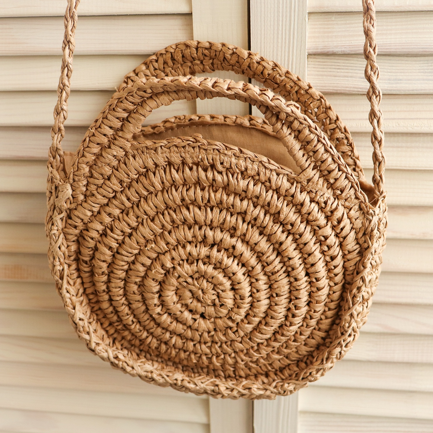 Соломенная сумочка REREKAXI