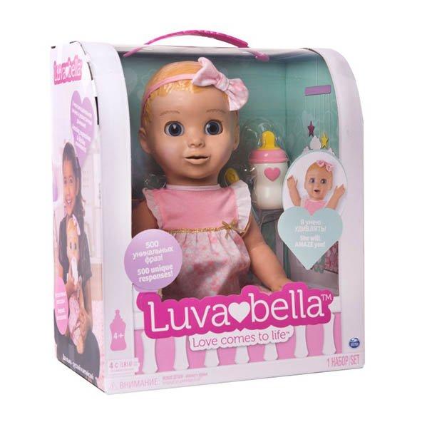 Интерактивная кукла Luvabella.Малышка с искусственным интеллектом!