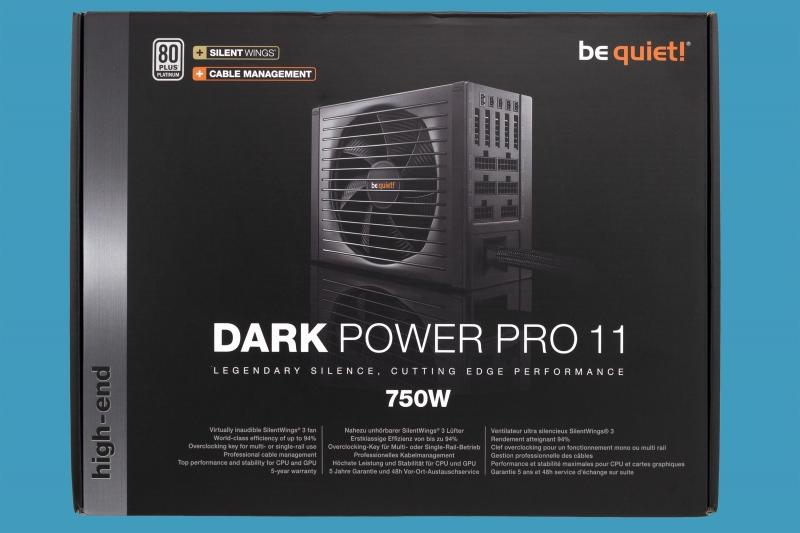 Тихий и мощный блок питания BEQUIET Power Dark Pro BN252 750 Вт ATX Platinum