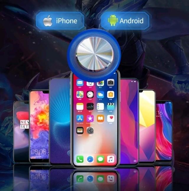 Круглый игровой джойстик для мобильного телефона iPhone /Android и планшета.   Супер штучка.