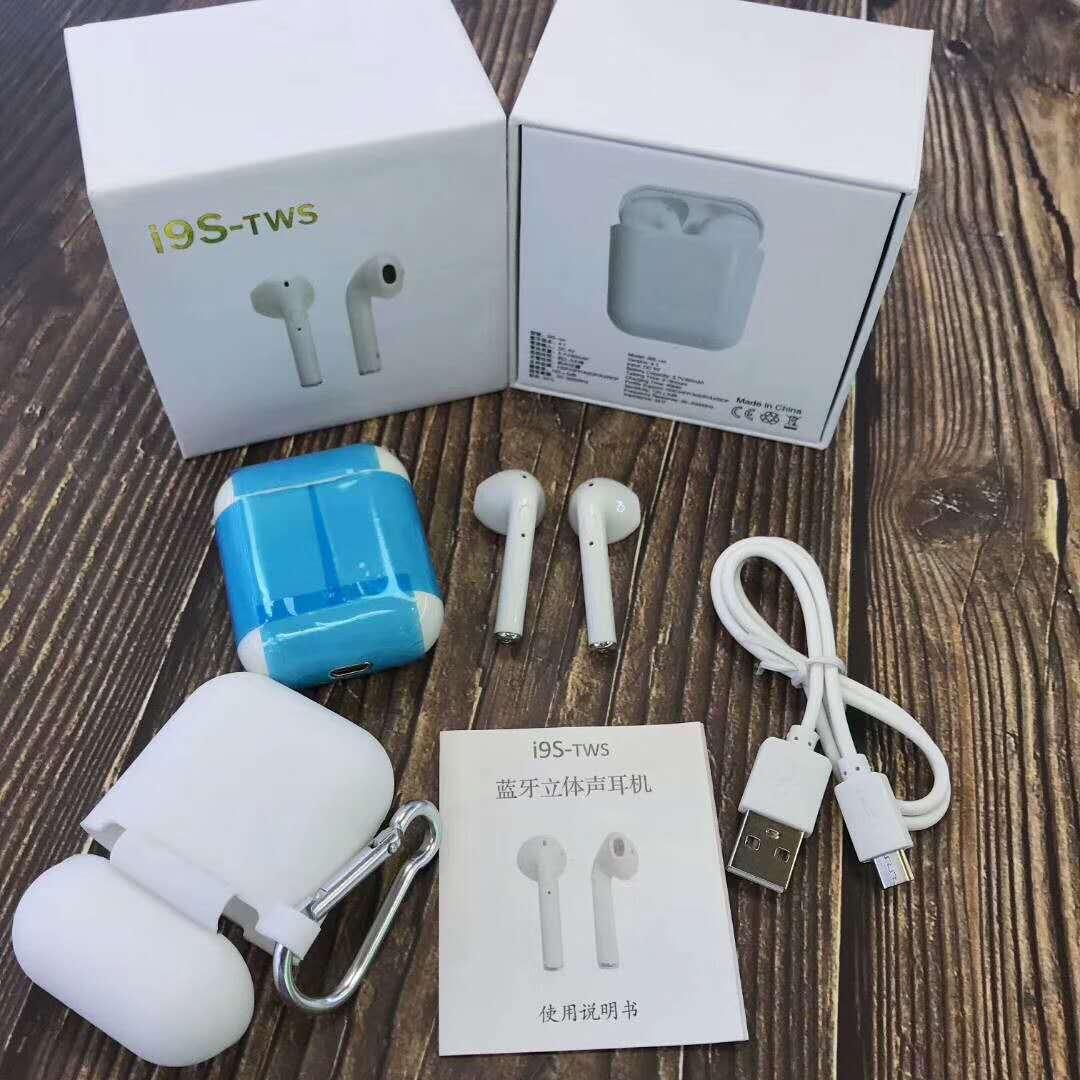 i9s  Bluetooth наушники с микрофоном