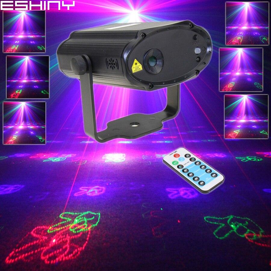 Лазерный проектор Eshiny мини- RGB 5