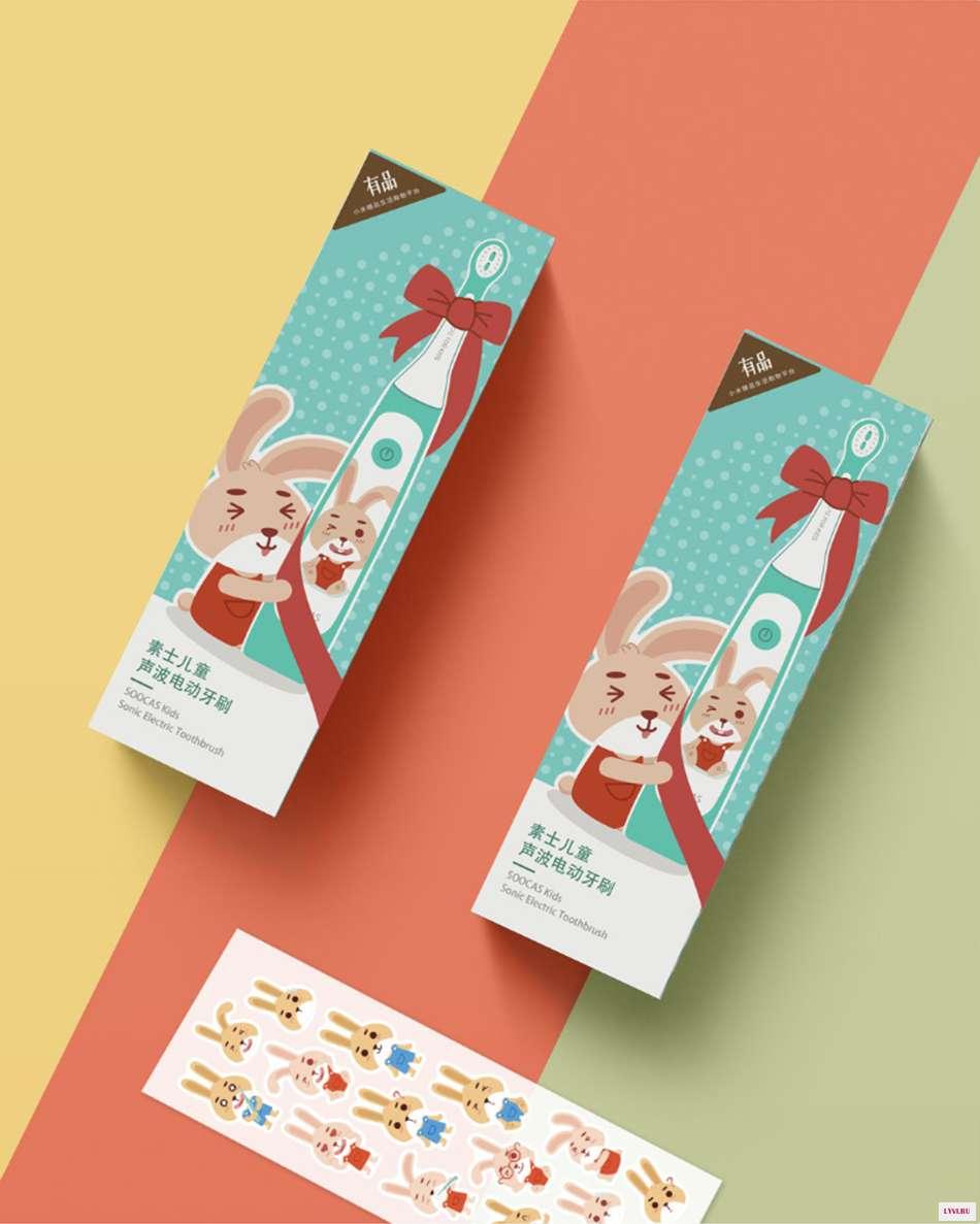 Электрическая зубная щетка Xiaomi Susie Children Sonic