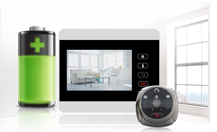Ihome5 WiFi беспроводной цифровой дверной глазок