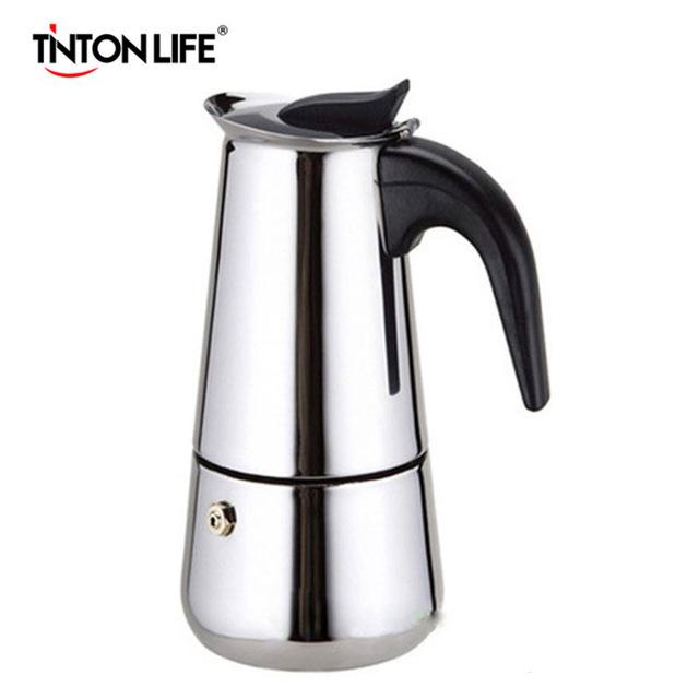 Гейзерная кофеварка TINTON